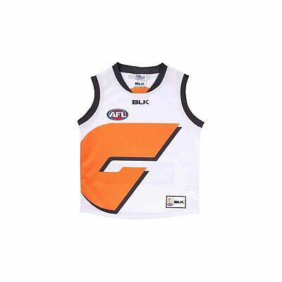 Greater Western Syd GWS Giants AFL 2016 BLK Clash Guernsey Adults & Kids Sizes!