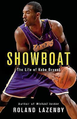 New Audio Book Showboat The Life of Kobe Bryant by Roland Lazenby Unabridged CDs