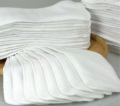 Reusable Washable Inserts  Liners For Cloth Nappy 3 Layers High Quality.