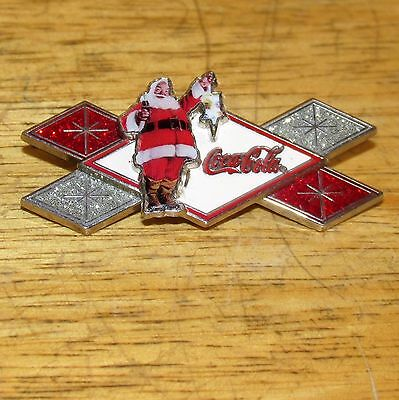 Vintage Coca Cola Advertising Christmas Santa Pin, 2007