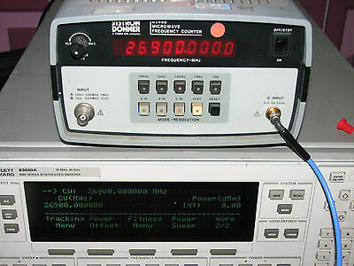 Systron Donner 6246B 26.5 GHz Frequency Counter
