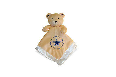 Dallas Cowboys 14x14 Security Bear Blanket Baby Fanatic NFL Hologram NWT