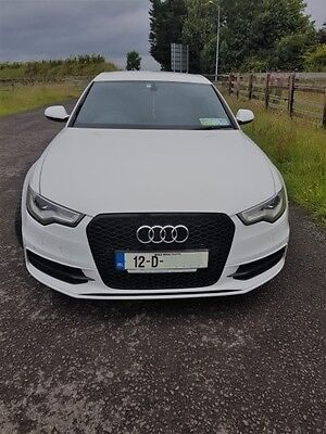 2012 Audi A6 204Bhp S Line  8 Speed Stronic Paddle Shift S6 Grille
