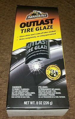 ARMORALL OUTLAST TIRE GLAZE 8 oz New Unopened