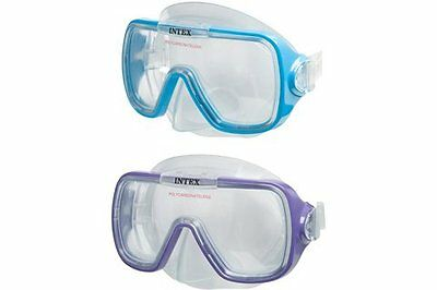 Intex Wave Rider Adults Diving Mask in Blue #55976