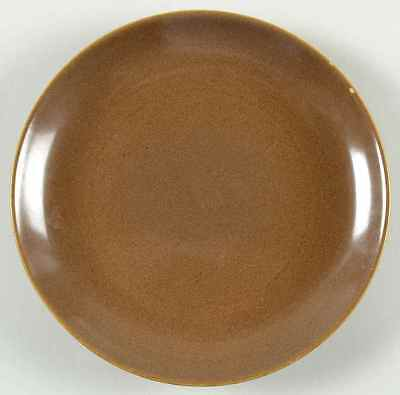 Iroquois Russel Wright CASUAL BROWN Salad Plate 268223