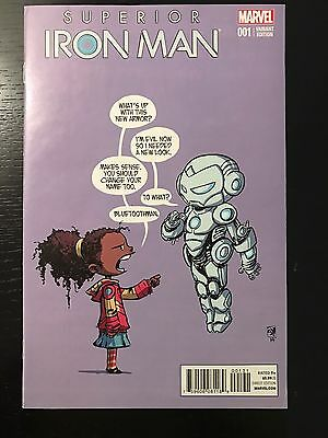Superior Iron Man 1 Skottie Young Variant VF-