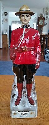 """1969 """"Royal Mountie Police"""" Canadian Mist decanter"""
