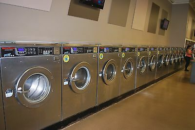 Speed Queen SC50 front load washer 50# capacity coin operated