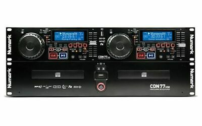 Numark CDN77 USB DJ Doppel CD Player MP3 Party Disco Club NEU