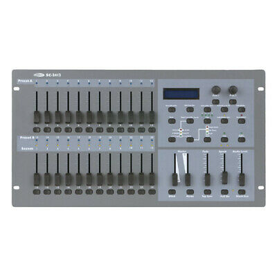 Showtec SC-2412 50 Channel Lighting Desk Licht Steuerung Steuergerät