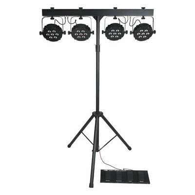 Showtec Compact Power Light Set MKII LED Lichtset 28x 3W TCL Bag Stand Steuerung