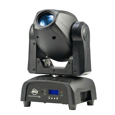 ADJ American DJ Focus Spot ONE Moving Head Spot Moving Light LED kaltweiß UV DMX