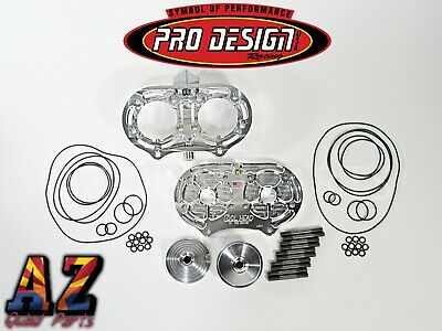Pro Design Billet Cool Head and Dome Suzuki LT500 LT 500 Quadzilla 57CC 57 CC