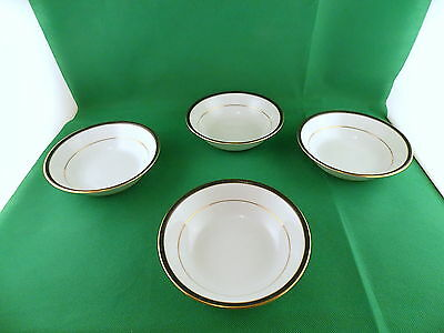 Boots Hanover Green Cereal Bowls x 4