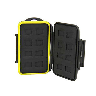 Anti-shock Water-resistant Holder Storage Memory Card Case For 16 Micro SD JJC