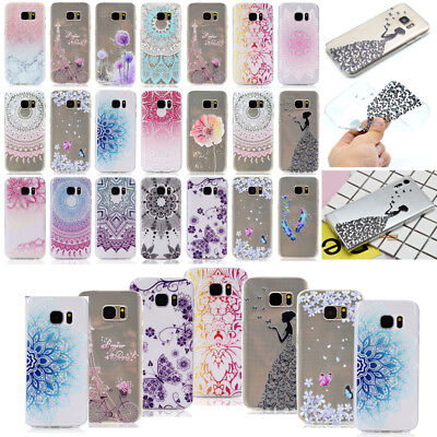LCMM Soft TPU Case Cover For Samsung Galaxy S8 Plus S6 S7 Edge Note 5 7 J3 J5 J7