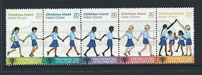 1979 CHRISTMAS ISLAND International Year of the Child Set MNH (SG 108a)