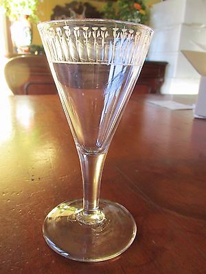 Antique Georgian Trumpet Wine Glass