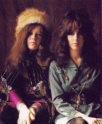 Janis Joplin Grace Slick 8X10 Glossy Photo Picture