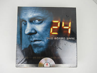2006 Pressman 20th Century Fox 24 DVD Board Game New Sealed