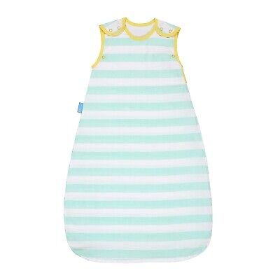 The Gro Company Insect Shield Baby / Child Grobag - Stripes 18-36m - Mint