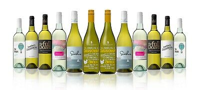 Mixed White Wine Featuring Rosemount Meal Matcher Chardonnay (12X750ML) RRP $189