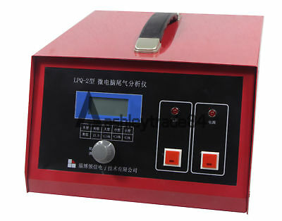 New Vehicle Tail Gas Analyzer Emission Gas Analyzer Detect Oxygen Content 220V