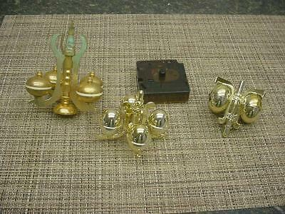 Lot of 3  Anniversary Clock Replacement Pendulums E041