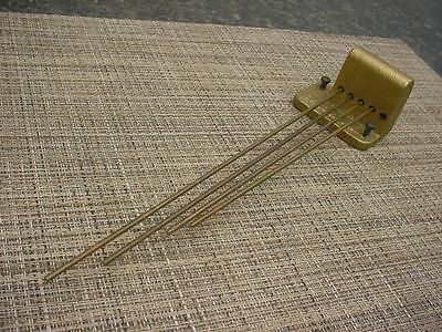 "12"" Vintage 4-Bar ""Seth Thomas"" Westminster Clock Gong w/ Brass Rods D437c"