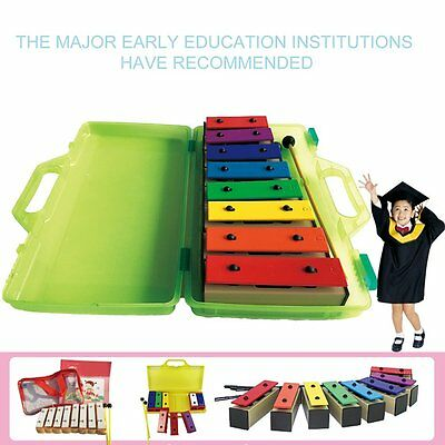 TL8-15 8 Notes Xylophone Early Childhood Kids Music Instrument With Box GT