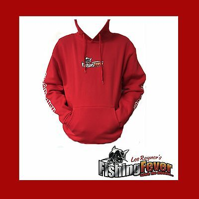 Fishing Fever Red Hoodie At Fishing Fever