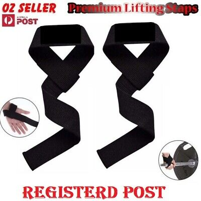 Weight Lifting Gym Training Wrist Support Straps Wraps Bodybuilding