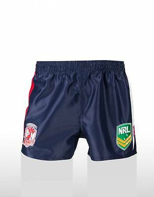 Sydney Roosters NRL Supporters Replica Away Shorts  Adults & Kids Sizes! ISC