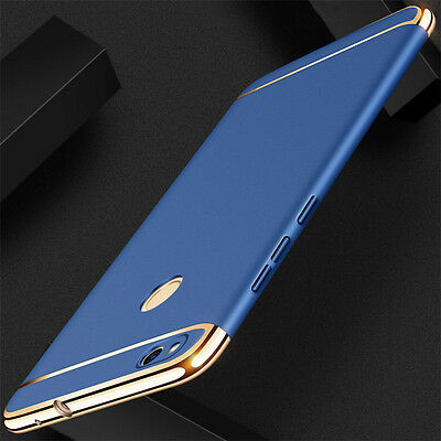 For Huawei P8 P9 P10 Lite 2017 Luxury Electroplate Hard PC Back Case Skin Cover