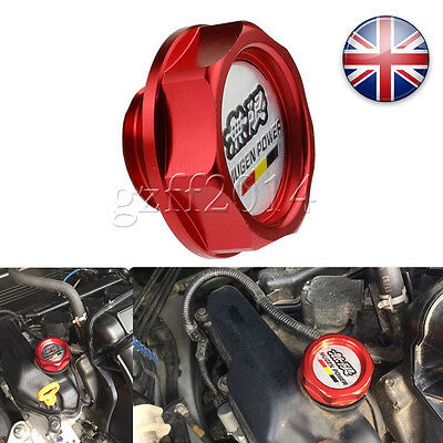 Red Honda Mugen Oil Filler Cap Civic Integra Type R Ep2 Ep3 Ej9 Ek9 Fn2 Uk