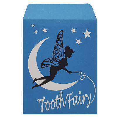 Tooth Fairy Peel and Seal Pocket Envelopes 92x68mm 16 Pack
