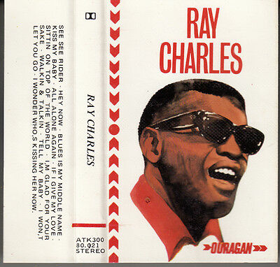 "K 7 Audio (Tape)  Ray Charles  ""ouragan"""