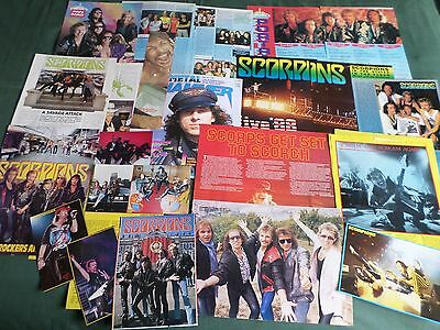 Scorpions - Rock Band - Clippings /cutting Pack