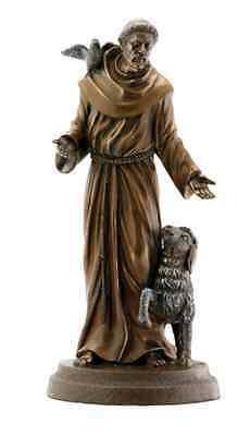St. Francis of Assisi Statue Sculpture Desktop Figurine - GIFT BOXED