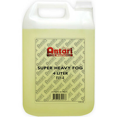 Antari Fog Machine FLY-4 Super-Heavy Fog Fluid for Antari Fog Machines