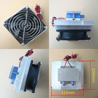 Semiconductor Refrigeration Thermoelectric Peltier Water Cooling Device 50W New
