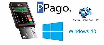Pago Bluetooth Chip And Pin Reader - Windows 10 - Only 1.2% Transaction Fee