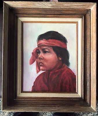 Native American Art Oil Painting by Guadalupe Apodaca