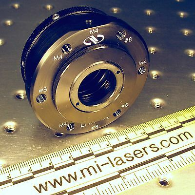 "NEWPORT LFM-1A LENS FOCUSING MOUNT with extra LPLH-1T OPTIC HOLDER 1"" nrc laser"