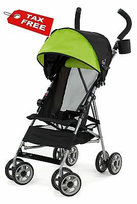 Baby Toddler Cloud Umbrella Stroller Spring Green Kid Compact Soft Folding NEW