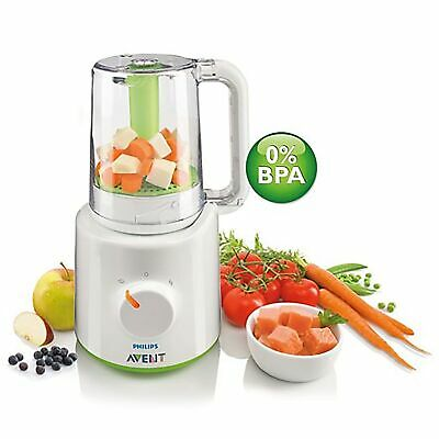 Philips Avent Baby / Child / Kids Food Steamer Blender 2 In 1