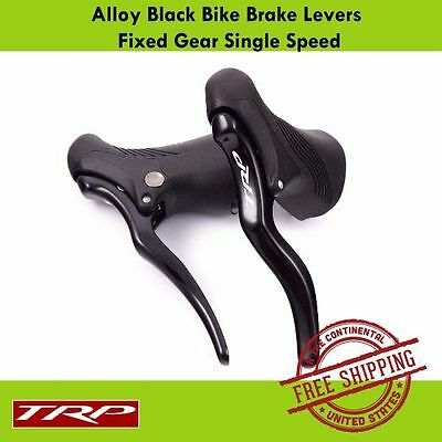 TRP RRL Alloy Bike Brake Levers Road Bike Fixed Gear-Single Speed (Black )