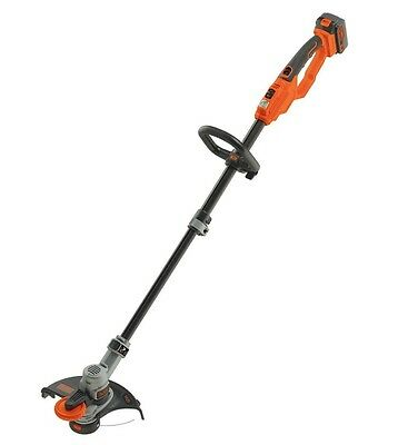 NEW BLACK & DECKER 18V Cordless String Trimmer with Battery & Charger