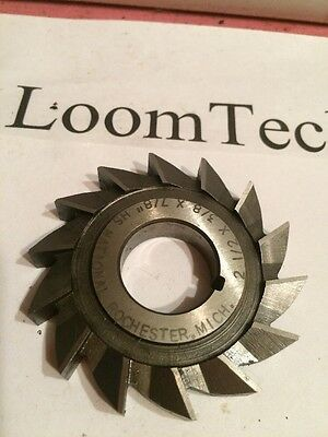 """2-1/2 X 3/8 X 7/8""""bore Side Milling Cutter Slitting Saw HS National"""
